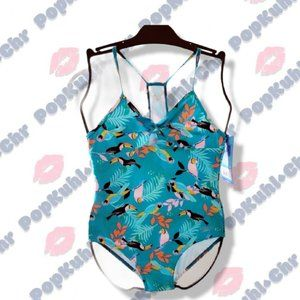 Speedo Tropical Toucan Swimsuit for Girls Size L